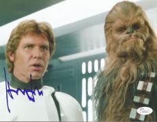 Harrison Ford Star Wars Movie Signed Autographed 8x10 Photo Rare Jsa Loa #z09530