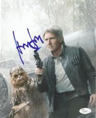 Harrison Ford Star Wars Movie Signed Autographed 8x10 Photo Rare Jsa Loa #z09531