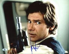 Harrison Ford Star Wars Signed 11X14 Photo Autographed BAS #A00348
