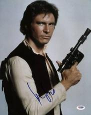 Harrison Ford Star Wars Signed 11X14 Photo Graded Perfect 10! PSA/DNA #U59399