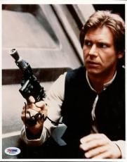 Harrison Ford Star Wars Signed 8X10 Photo Autographed PSA/DNA #T03803