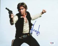 Harrison Ford Star Wars Signed 8x10 Photo Autographed Psa/dna #u01270