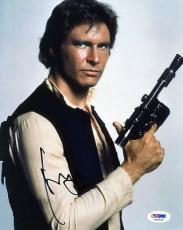 Harrison Ford Star Wars Signed 8X10 Photo PSA/DNA #T01019