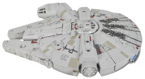 Harrison Ford Star Wars The Force Awakens Signed Millennium Falcon BAS #A11537