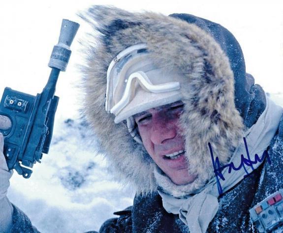 Harrison Ford The Empire Strikes Back Star Wars Signed 8x10 Auto Photo DG COA