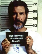 Harrison Ford The Fugitive Signed 11X14 Photo PSA/DNA #H86094