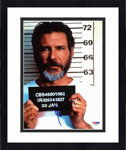 Harrison Ford The Fugitive Signed 8x10 Photo PSA/DNA #T03806