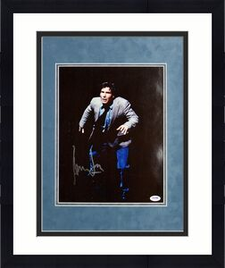 Harrison Ford The Fugitive Signed Matted 11X14 photo PSA/DNA #I26369