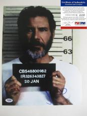 Harrison Ford,the Fugitive,signed,autographed,11x14,photo,psa Dna, With Proof