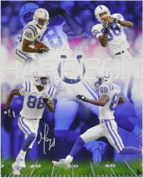 Marvin Harrison Autographed Photograph - 16x20 Collage Mounted Memories