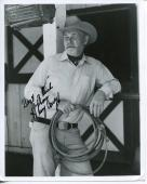 Harry Carey Jr Cowboy Movie Actor John Wayne Co-star Signed Photo Autograph