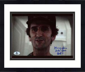 """Harry Dean Stanton Alien """"Brett"""" Signed 8X10 Photo BAS #B03659"""