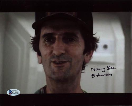 Harry Dean Stanton Alien Signed 8X10 Photo Autographed BAS #C19341