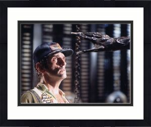 HARRY DEAN STANTON HAND SIGNED 8x10 COLOR PHOTO+COA       ALIEN      TO DAVE