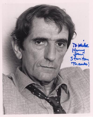HARRY DEAN STANTON HAND SIGNED 8x10 PHOTO+COA       LEGENDARY ACTOR      TO MIKE