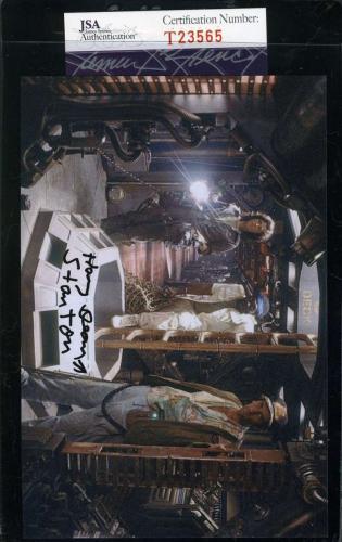 HARRY DEAN STANTON Hand Signed JSA COA ALIEN Photo Autographed Authentic