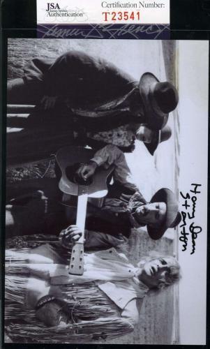 HARRY DEAN STANTON Hand Signed JSA COA MISSOURI BREAKS Photo Autographed