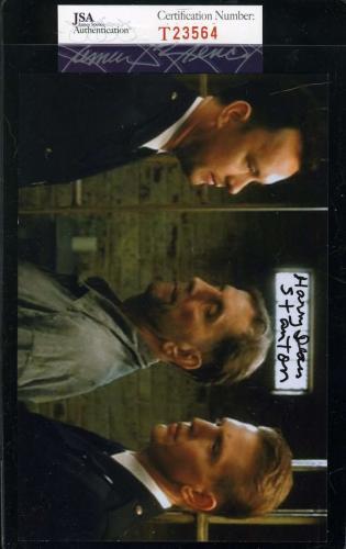 HARRY DEAN STANTON Hand Signed JSA COAGREEN MILE Photo Autographed Authentic