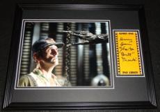 Autographed Harry Dean Photograph - Stanton Framed 11x14 Display Alien Brett