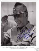 Harry Morgan-signed photo-JSA COA-41