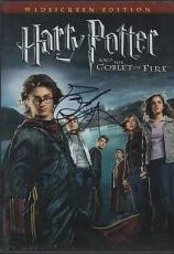HARRY POTTER AND THE GOBLET OF FIRE signed DANIEL RADCLIFFE - widescreen cd
