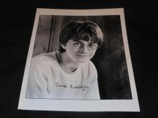 Harry Potter Daniel Radcliffe Vintage Printed Facsimile Autograph 8x10 Photo 614