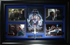 Harry Potter Deathly Hallows Cast Signed Display