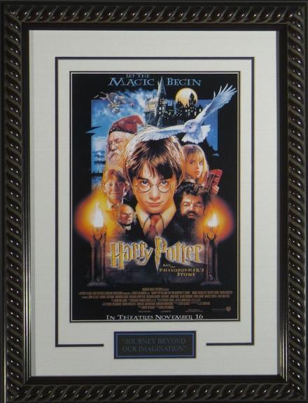 Harry Potter Sorcerer's Stone – Movie Poster Framed 11×17
