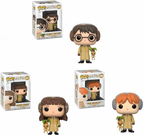 Harry Potter, Ron Weasley, and Hermione Granger Funko Pop! Bundle