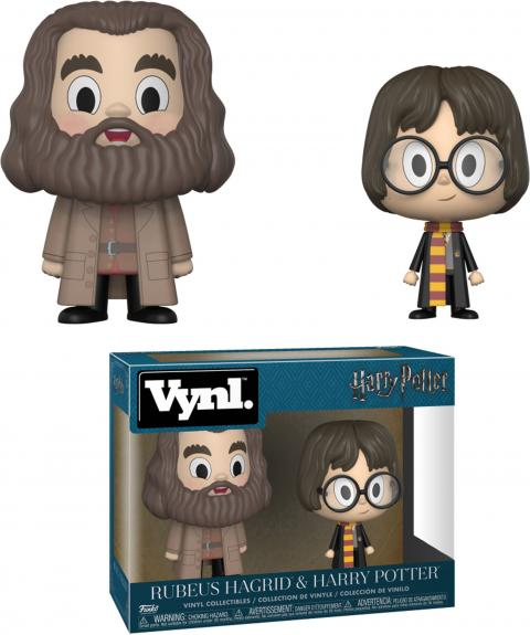 Harry Potter & Rubeus Hagrid Vynl Funko