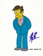 Harry Shearer Signed 8x10 Photo w/COA The Simpsons Spinal Tap SNL Mr. Burns #3