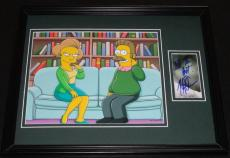 Harry Shearer Signed Framed 11x14 Photo Display Simpsons Ned Flanders