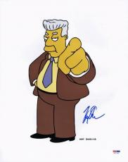 Harry Shearer The Simpsons Signed 11X14 Photo PSA/DNA #V67168