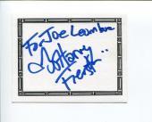 Harvey Fierstein Broadway Playwright Tony Award Winne Signed Autograph Bookplate