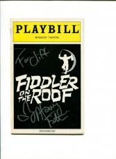 Harvey Fierstein Fiddler On The Roof Broadway Play Signed Autograph Playbill