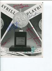 Harvey Fierstein Tommy Tune Joe Mantegna Hinton Battle Tony Award Signed Photo