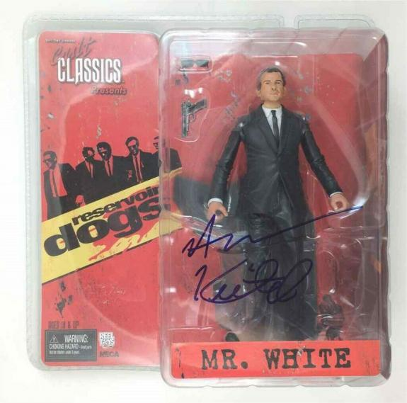 Harvey Keitel Reservoir Dogs Autographed Signed Action Figure Certified PSA/DNA