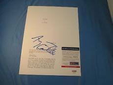 Harvey Keitel Signed Taxi Driver Script Cover PSA DNA COA Autograph