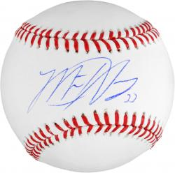 Matt Harvey Autographed Baseball - Mounted Memories