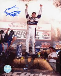 HARVICK, KEVIN AUTO (GOODWRENCH/ON CAR) 8X10 PHOTO - Mounted Memories