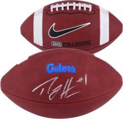 Percy Harvin Florida Gators Autographed Game Football