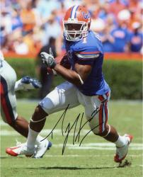Percy Harvin Autographed Florida Gators 8x10 Photo