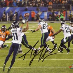 Percy Harvin Autographed Seattle Seahawks 8x10 Photo