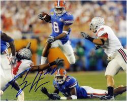 "Percy Harvin Florida Gators 2007 BCS National Champion Game Autographed 8"" x 10"" Photograph"