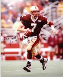 "Matt Hasselbeck Boston College Eagles Autographed 16"" x 20"" Photograph - Mounted Memories"