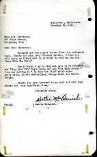 Hattie Mcdaniel Mammy Gone With The Wind Psa/dna Autograph 1951 Letter Signed