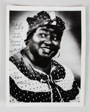 Hattie McDaniel Signed 8×10 Photo Gone with the Wind JSA Full Letter