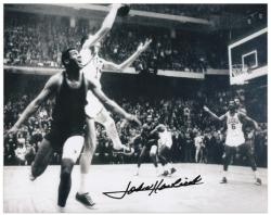 "John Havlicek Boston Celtics Autographed 8"" x 10"" Steal Photograph"