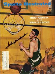 John Havlicek Boston Celtics Autographed Miracle Celtics Sports Illustrated