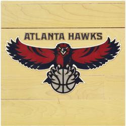 """NBA Atlanta Hawks 12"""" x 12"""" Logo Floor Piece"""